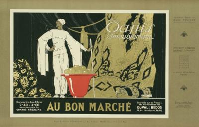 Rene Vincent French Art Deco Period Poster by Rene Vincent circa 1930