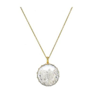 Renee Lewis RENEE LEWIS SHAKER 18K YELLOW GOLD 7 50 CARAT DIAMOND PENDANT