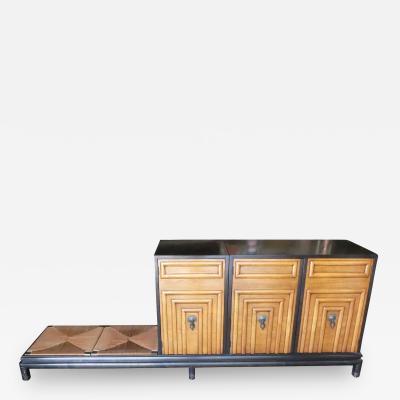 Renzo Rutili Renzo Rutili Storage Cabinet with Bench for Johnson Furniture
