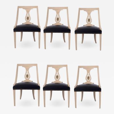 Renzo Rutili Set of Six Renzo Rutili Dining Chairs