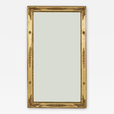 Restauration Period Giltwood Mirror