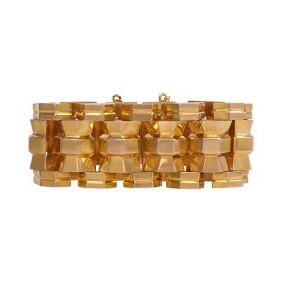 Retro Gold Tank Bracelet Morocco