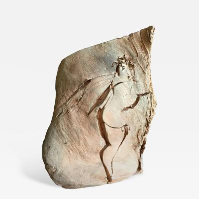Reuben Nakian Carved Cherub Sculpture by Reuben Nakian