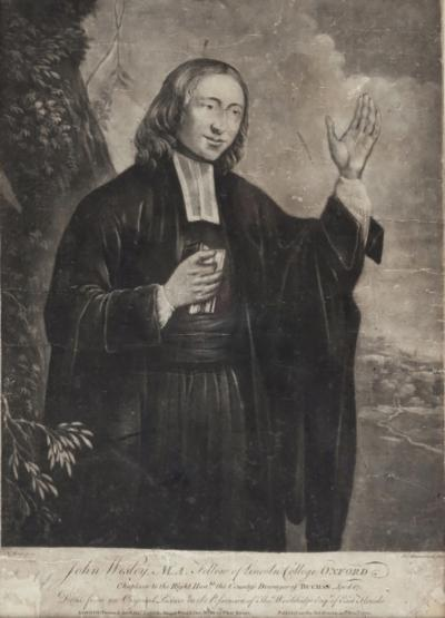 Reverend John Wesley MA Fellow of Lincoln Colleges Oxford London 1770