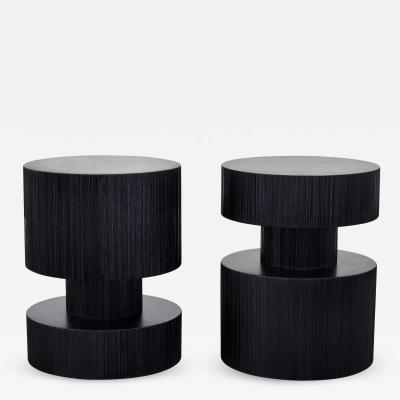 Revert End Tables Stools by John Eric Byers