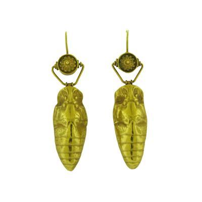 Revival Gold Drop Earrings