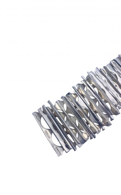 Rey Urban Rey Urban Sterling Silver Necklace and Bracelet