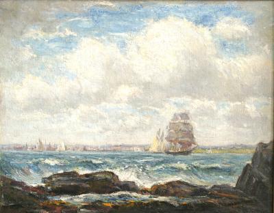 Reynolds Beal Narragansett Bay Newport Rhode Island 1902