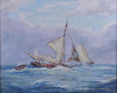 Reynolds Beal Oyster Bay Boats in a Squall