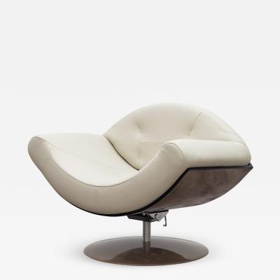 Ricardo Fasanello Gaivota 60s Swivel Lounge Armchair
