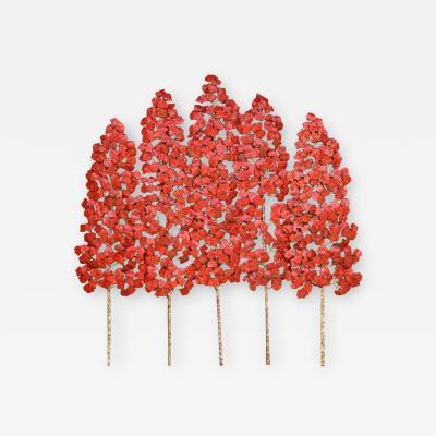 Richard B Smith Aspen Grove 3pc 5 stem red