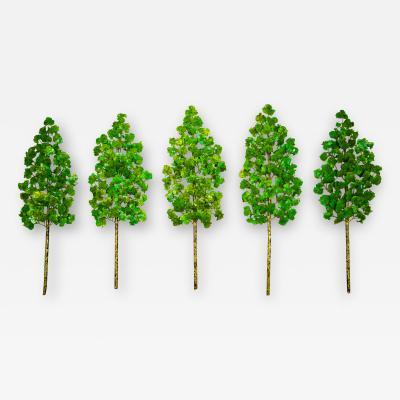 Richard B Smith Aspen Grove 5 pc 5 stem Green