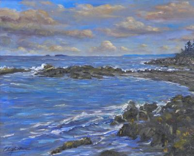 Richard Barnard Chalfant Cliff Island by Richard Chalfant