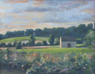 Richard Barnard Chalfant Taylor Run Oil on Canvas by Richard Chalfant