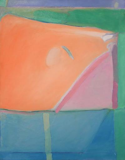 Richard Clifford Diebenkorn 1980s Richard Diebenkorn Style Abstract Expressionism Painting