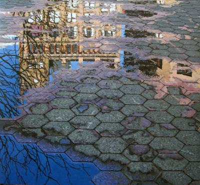 Richard Combes Union Square Reflection