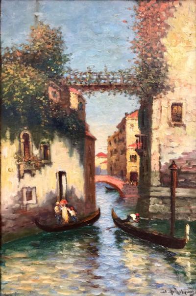 Richard Dey DeRibcowsky Venice Gondolas