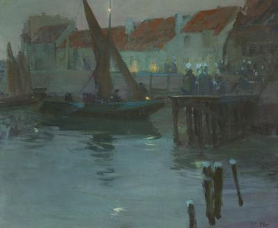 Richard Edward Miller Evening in Brittany