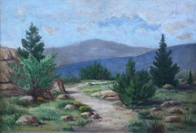 Richard Ernesti Landscape in the Foothills of the Rocky Mountains