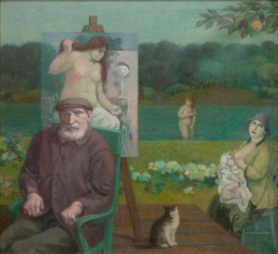 Richard Haines The Source Homage to Renoir