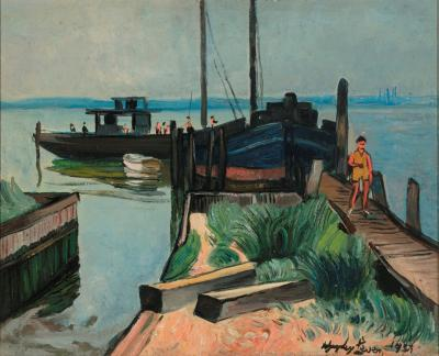 Richard Hayley Lever At Keyport New Jersey