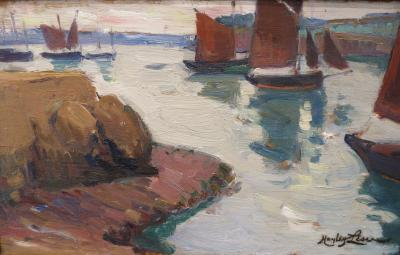 Richard Hayley Lever Boats in Harbor