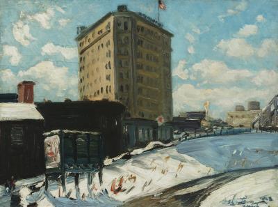 Richard Hayley Lever City Scene