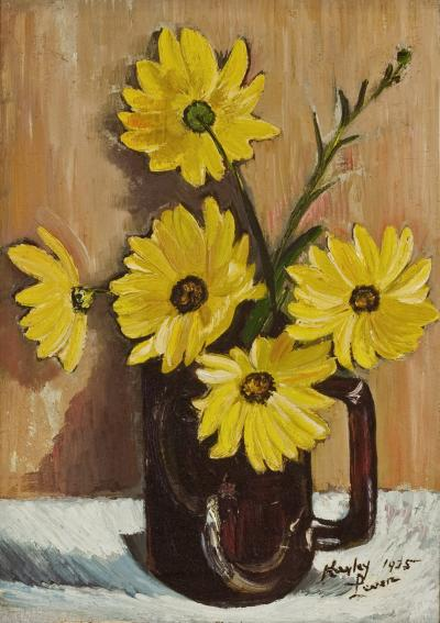 Richard Hayley Lever Floral Still Life