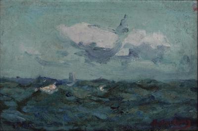Richard Hayley Lever Seascape Mid Atlantic