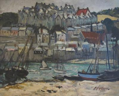 Richard Hayley Lever St Ives From The Quay Cronwall England