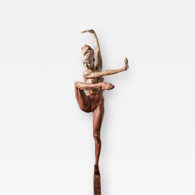 Richard MacDonald Contemporary Nude Spire IV Clarity Red