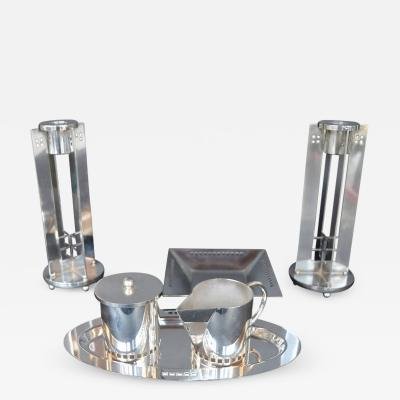 Richard Meier Richard Meier for Seid Powell Silver Plated Set