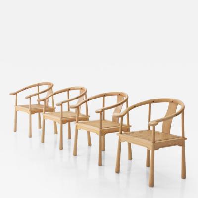 Richard Nissen 4 Richard Nissen Yin Chairs Denmark 1960s