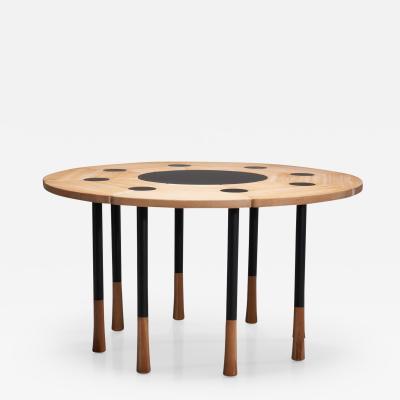Richard Nissen Richard Bent Nissen Yang Dining Table Denmark 1960s 1950s