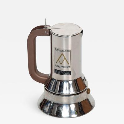 Richard Sapper Richard Sapper for Alessi Coffee Expresso Maker Mid Century Italian Modern