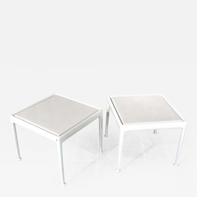 Richard Schultz Pair Richard Schultz Side Tables for Knoll