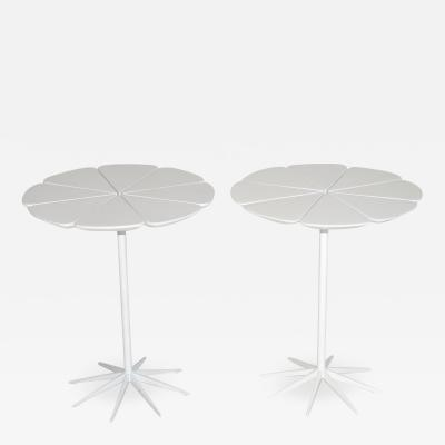 Richard Schultz Pair of Early Richard Schultz Petal Tables by Knoll