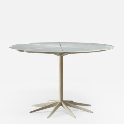 Richard Schultz Richard Schultz Petal Coffee Table in White for Knoll USA 1960s
