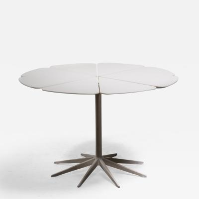 Richard Schultz Richard Schultz Petal Dining Table in White for Knoll USA 1960s