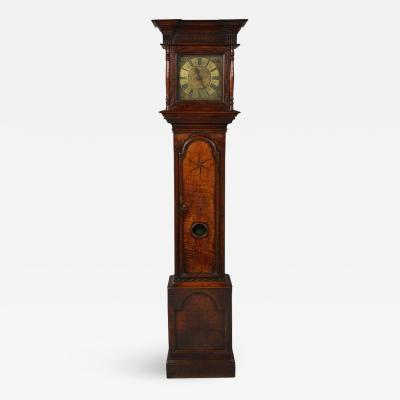 Richard Wood Early 18th Century Brass Dial Clock