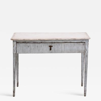 Richly craved Gustavian freestanding console table circa 1790