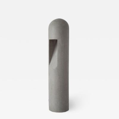 Rick Owens Grey Concrete Lamp by Rick Owens