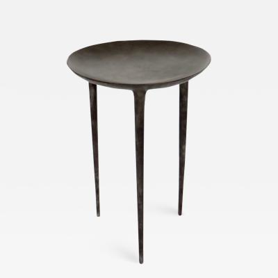 Rick Owens RICK OWENS TALL BRONZE BRAZIER SIDE TABLE