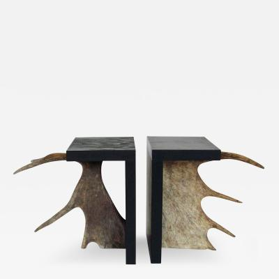 Rick Owens Rick Owens Atelier T Stag Stool In Black