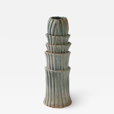 Robbie Heidinger Fluted Vase 1 by Robbie Heidinger