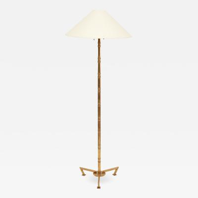 Robert Altman Bronze Bamboo Floor Lamps