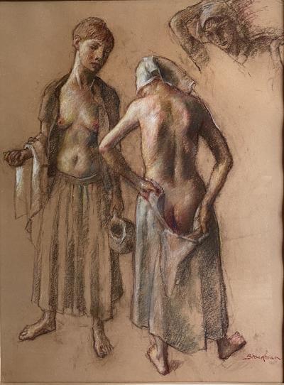 Robert Brackman Nude Study