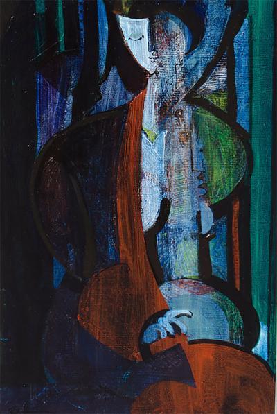 Robert Branham Woman in Blue