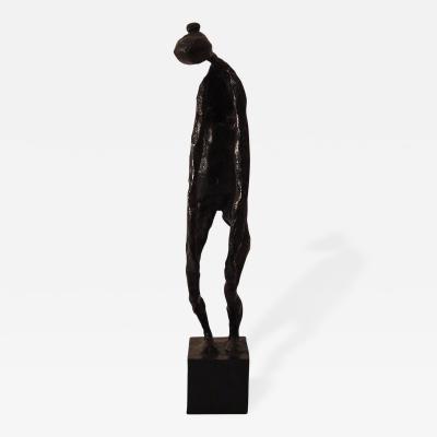 Robert Couturier Woman Bronze Sculpture by Robert Couturier