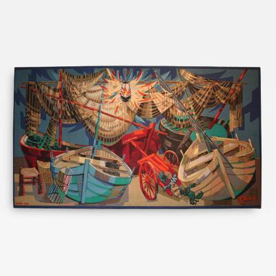 Robert Debieve Wall Hanging Mural by Robert Debieve
